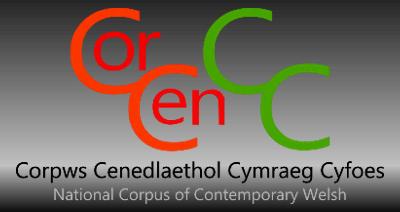 CorCenCC - Corpws Cenedlaethol Cymraeg Cyfoes